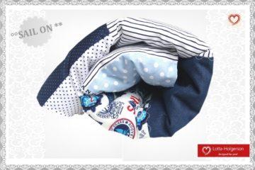 Babydecke - Kuscheldecke mit Jeans