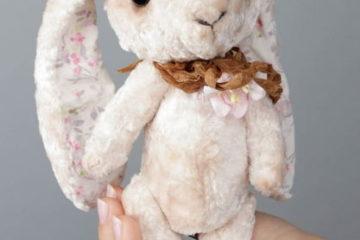 Handmade Kuscheltier Hase