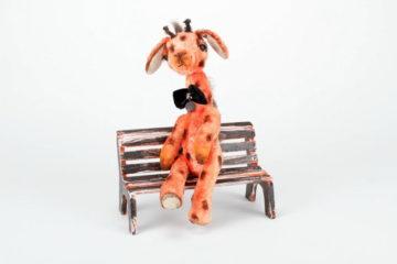 Handmade Kuscheltier Giraffe Manny