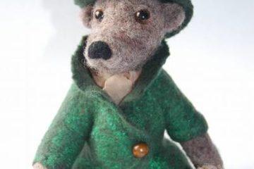 Bär, Bärchen, Teddybär Echter Gentleman aus Filz
